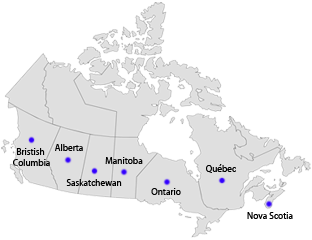 Canada Regional Offices
